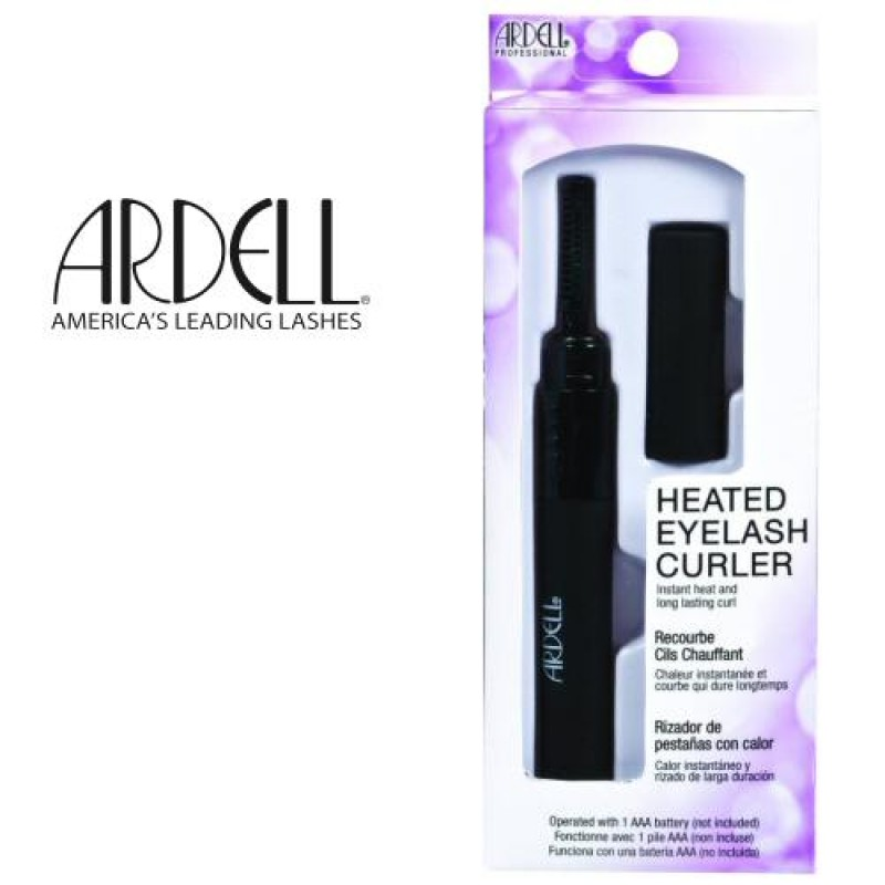ardell heated eyelash curler review