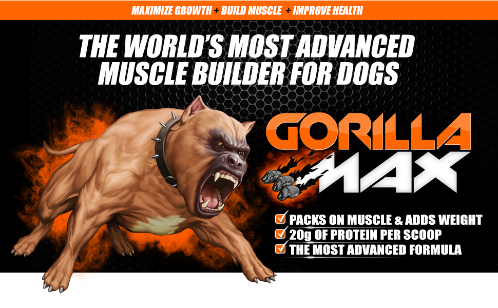 gorilla max dog supplement reviews