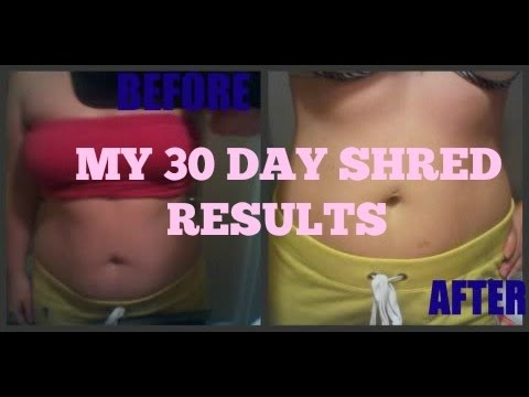 30 day shred reviews results