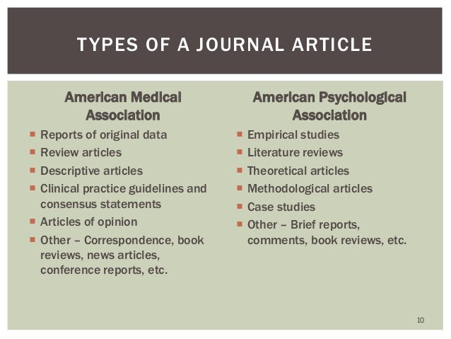 how to review a medical journal article