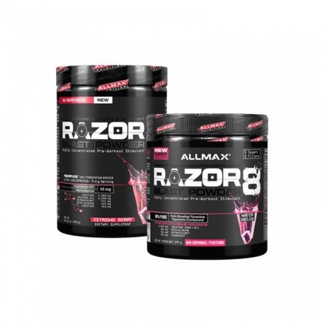 allmax razor 8 pre workout review