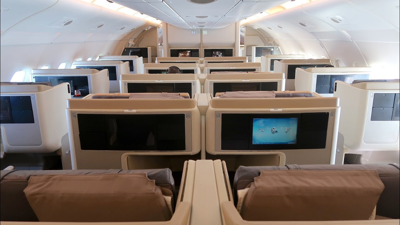 singapore airlines a380 business class review