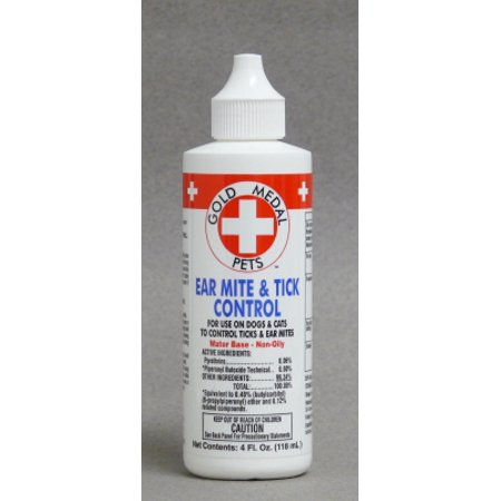 gold medal ear mite and tick control reviews
