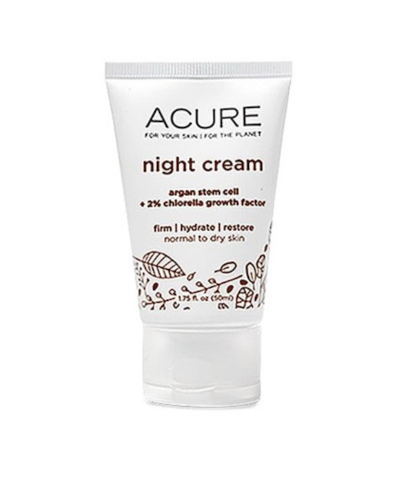 acure organics night cream review