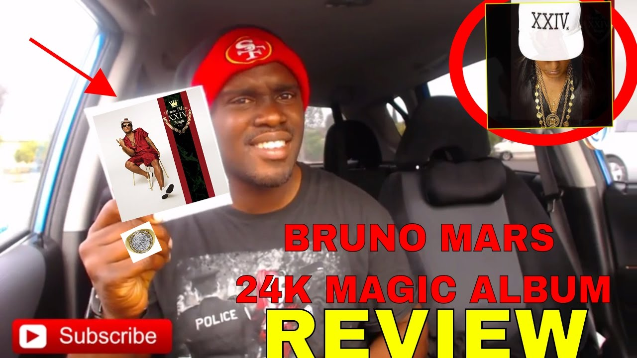 bruno mars 24k magic album review