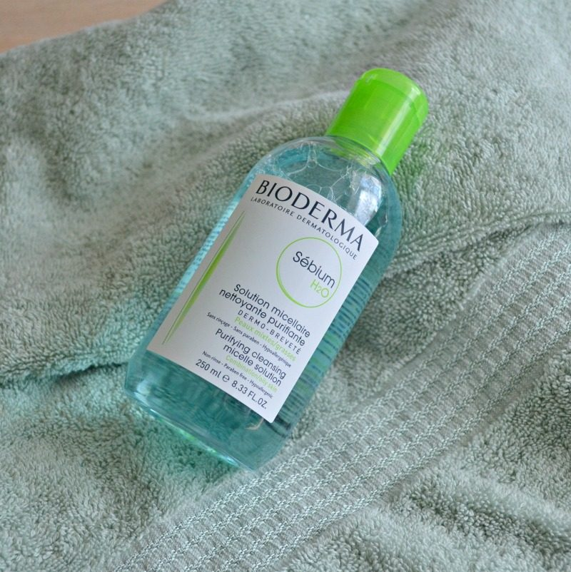 bioderma sebium h2o micelle solution review