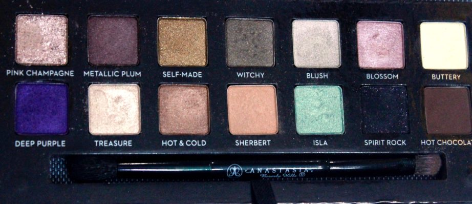 anastasia beverly hills eyeshadow review