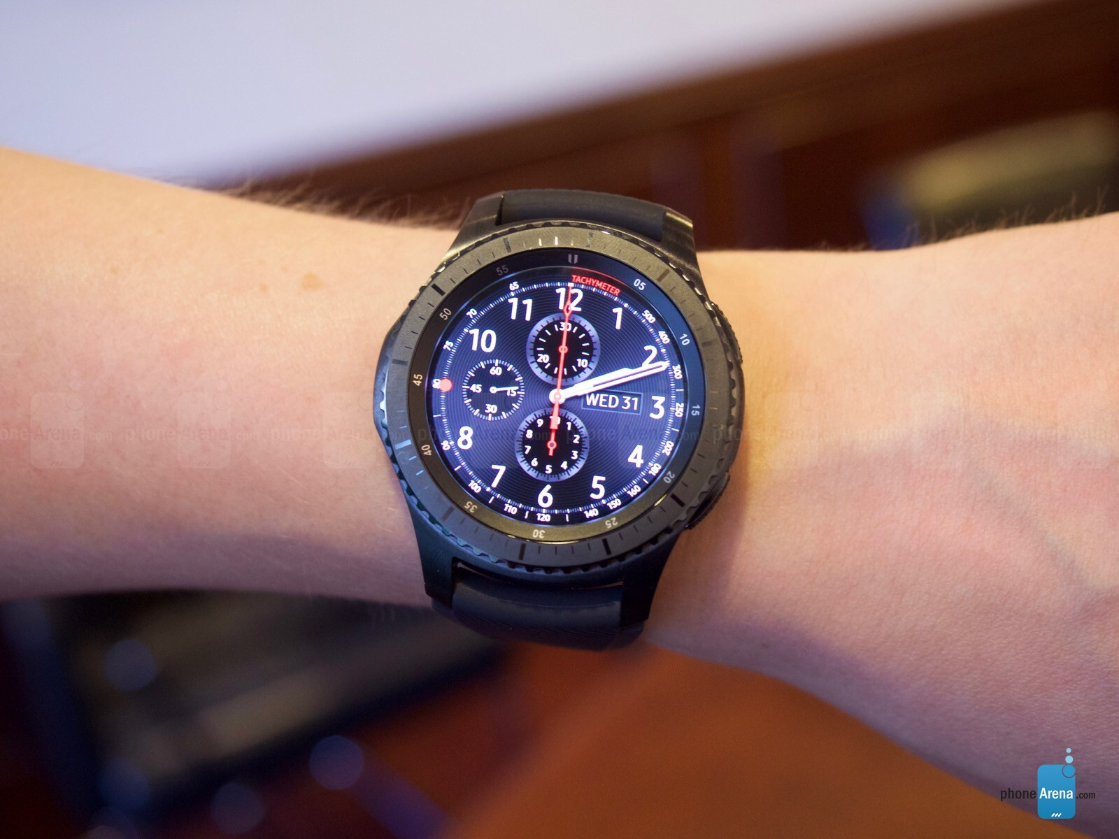 galaxy gear s3 frontier review