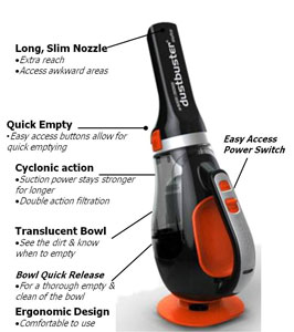 black and decker dustbuster 12v reviews