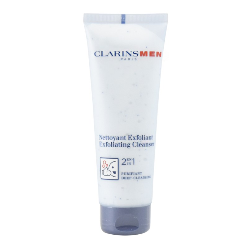 clarins mens exfoliating cleanser review