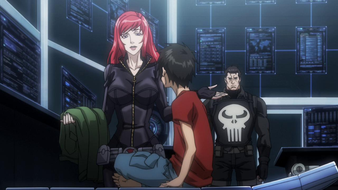 avengers confidential black widow & punisher review