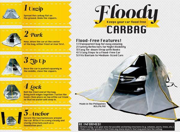 flood guard car bag reviews