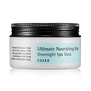 cosrx ultimate nourishing rice overnight spa mask review