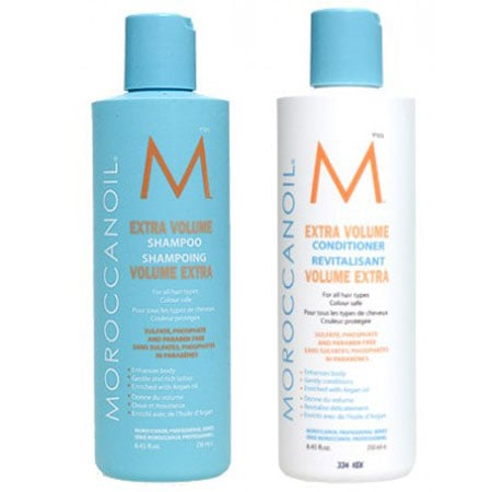 moroccanoil extra volume shampoo and conditioner reviews