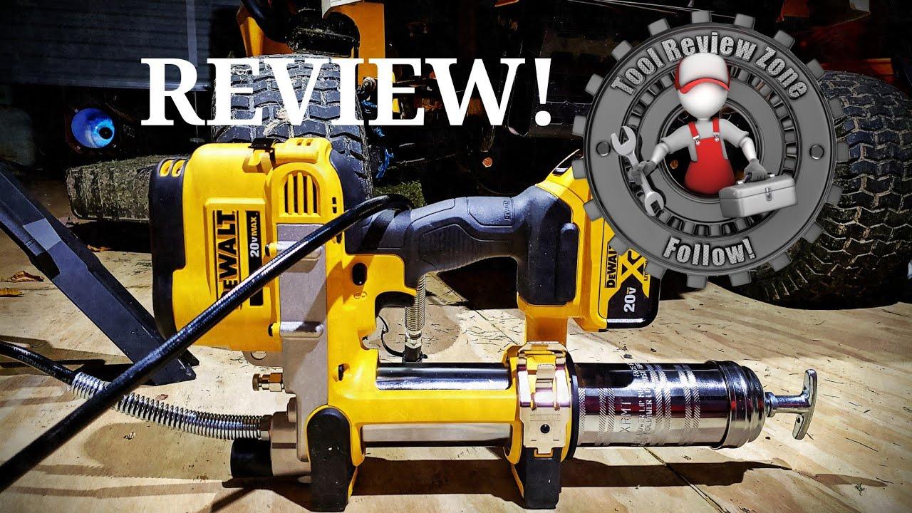 dewalt cordless grease gun reviews