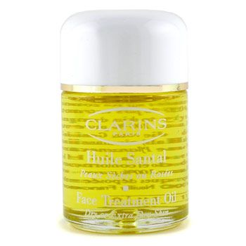 clarins santal face treatment oil review