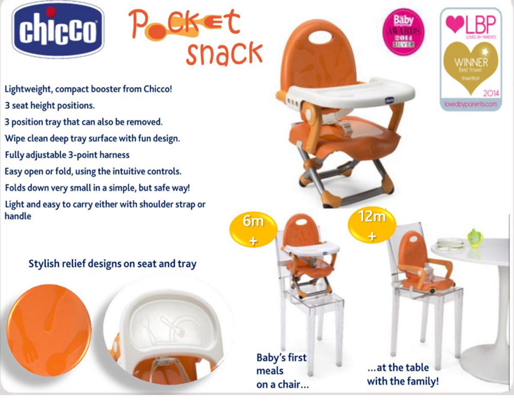 chicco pocket snack booster seat reviews