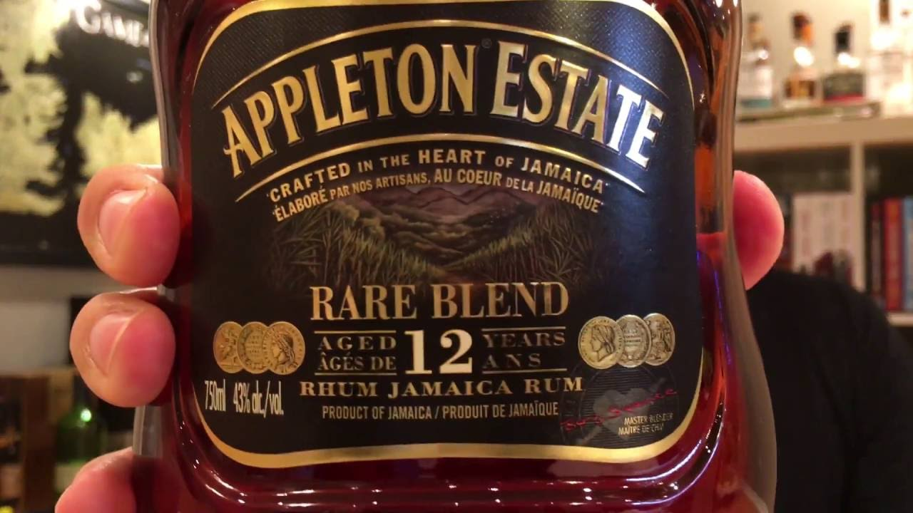 appleton estate 12 year rare blend review