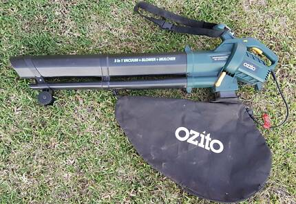 ozito 1600w electric garden vacuum reviews