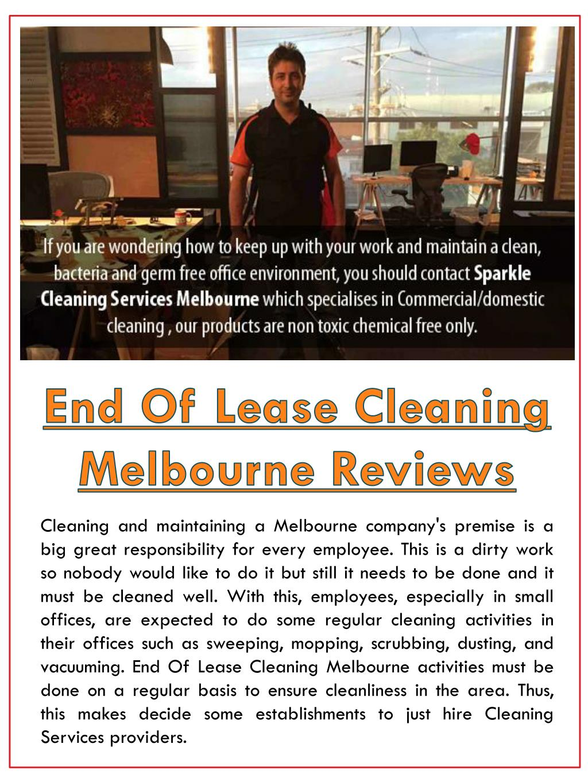 bond back cleaning melbourne reviews