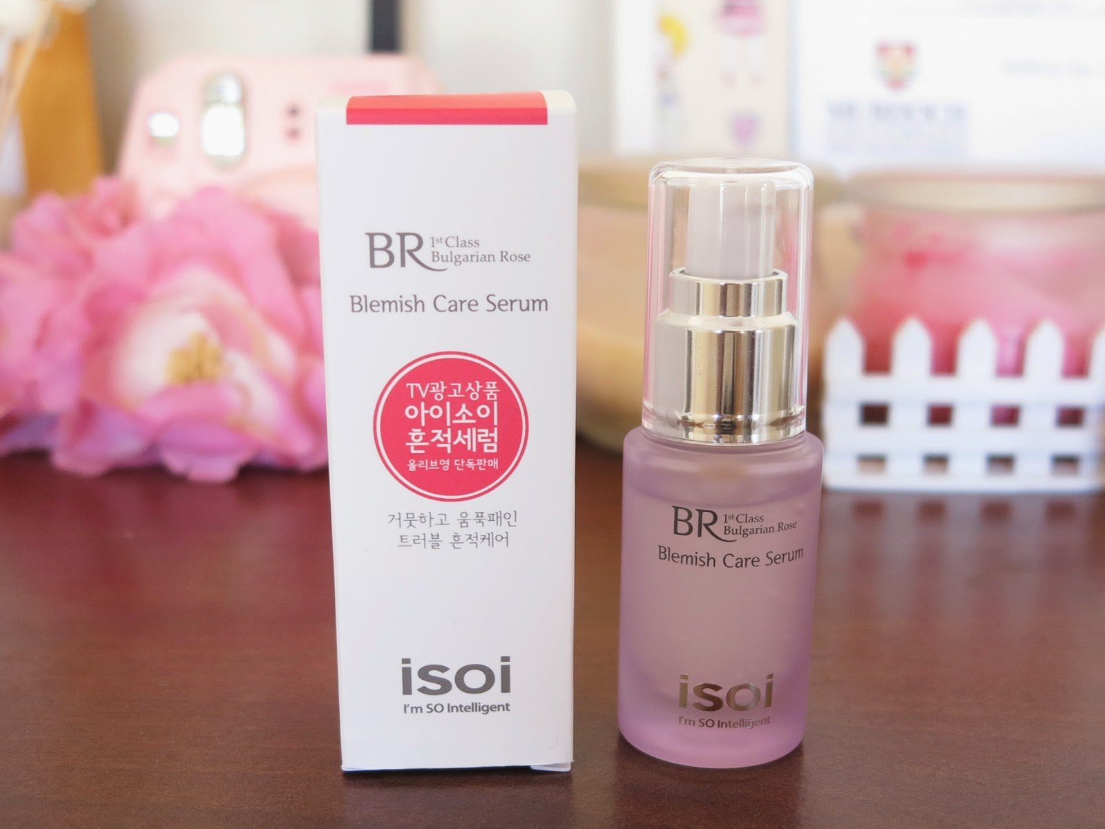 isoi bulgarian rose blemish care serum review