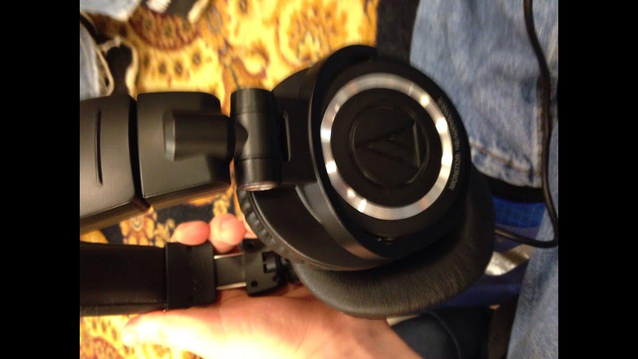 audio technica ath m50 review