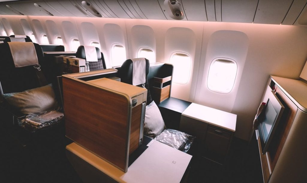 swiss airlines business class review