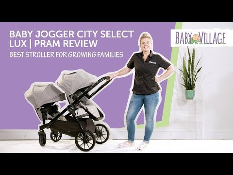baby jogger city select pram review