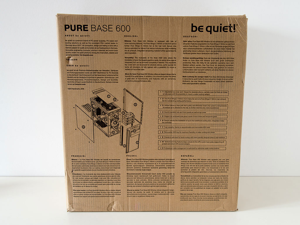 be quiet pure base 600 review