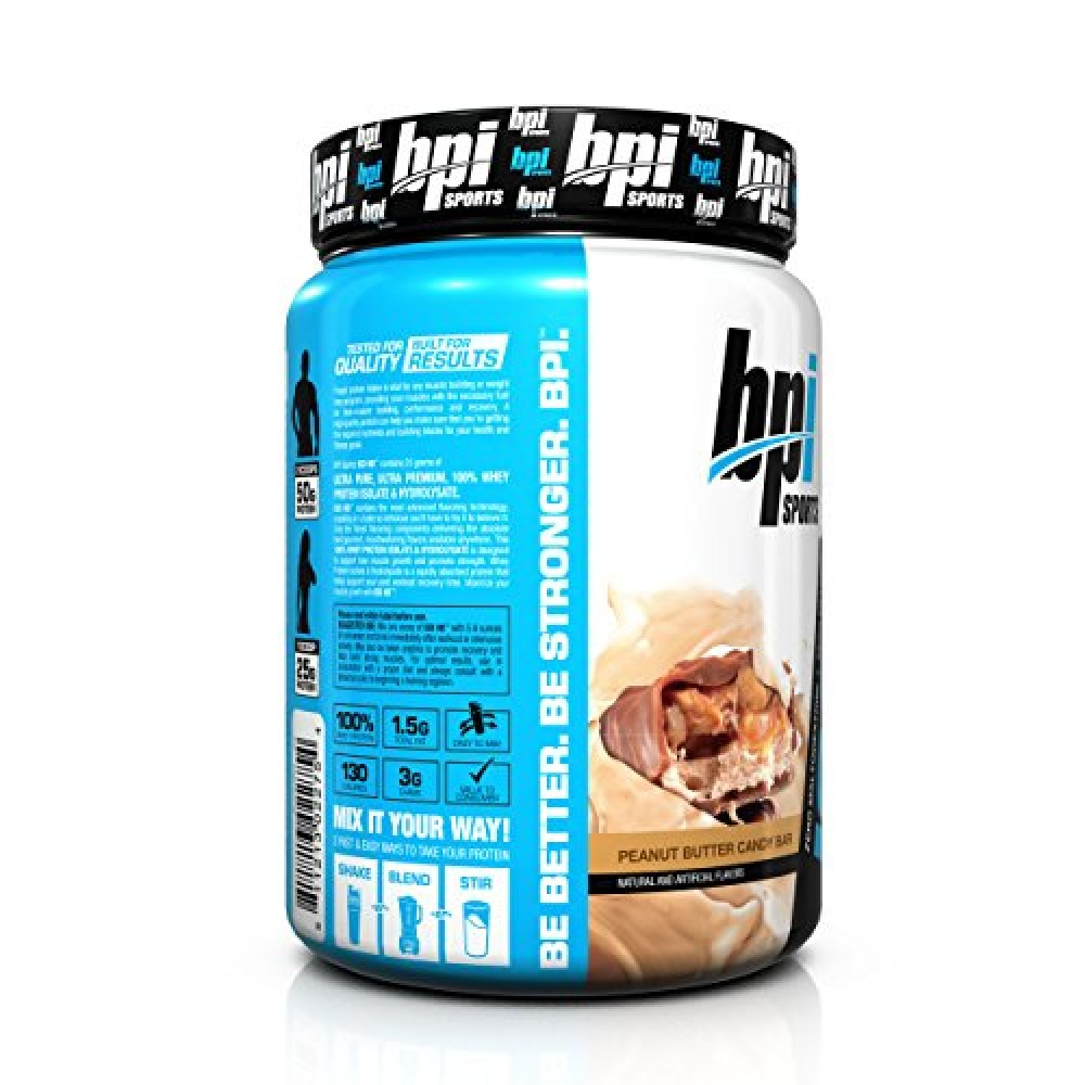 bpi peanut butter candy bar review