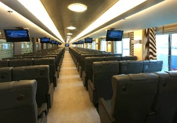 horizon ferry business class review