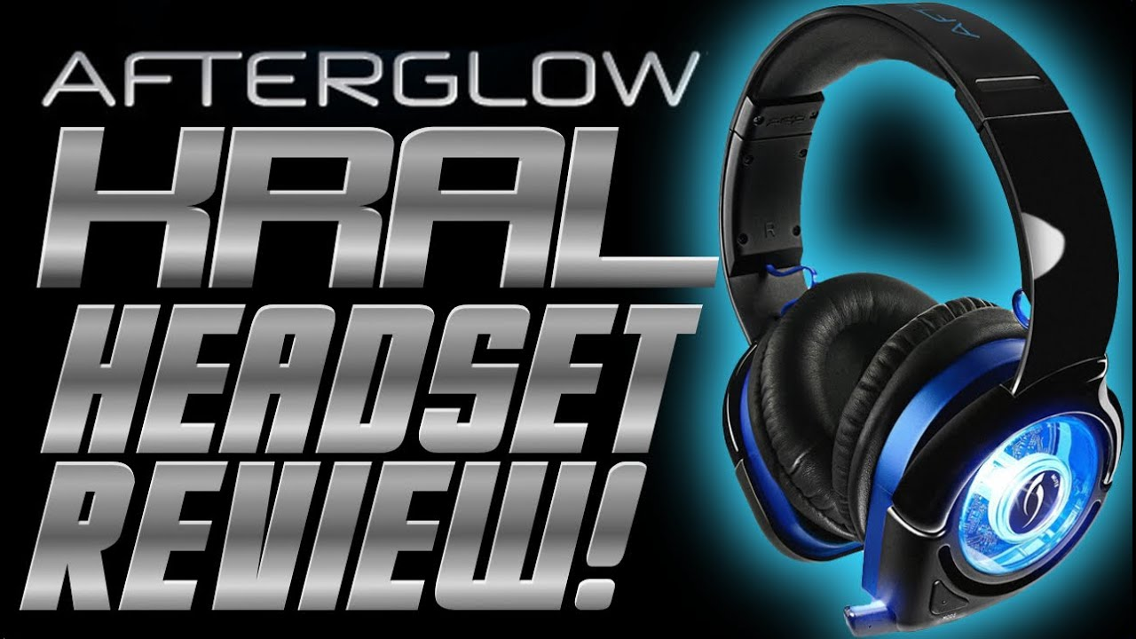 afterglow ps4 wireless headset review