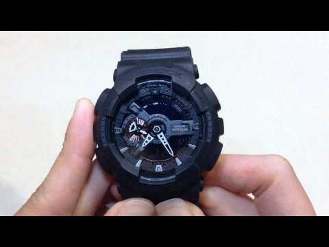 g shock ga110mb 1a review