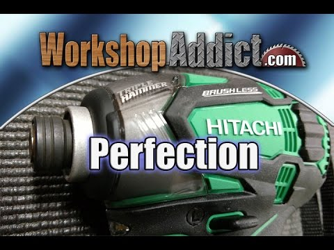 hitachi brushless impact driver review