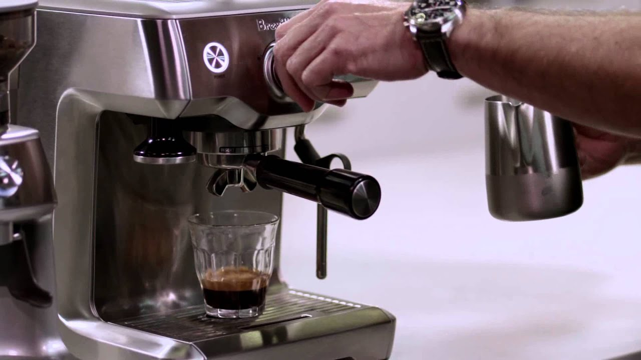 breville duo temp pro coffee machine review