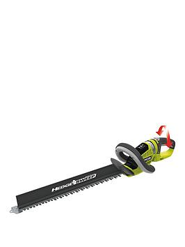 ryobi one+ 18v cordless pole hedge trimmer review