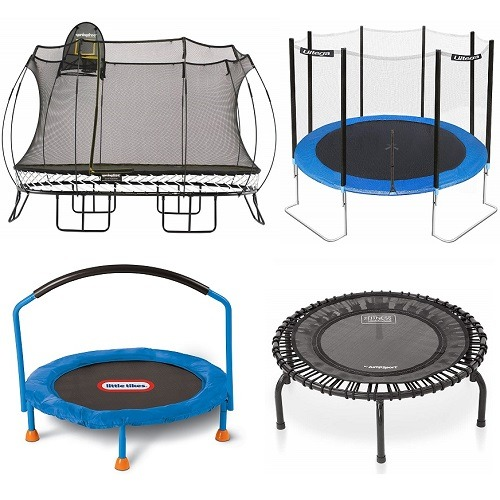 jumpmaster 10ft trampoline combo review