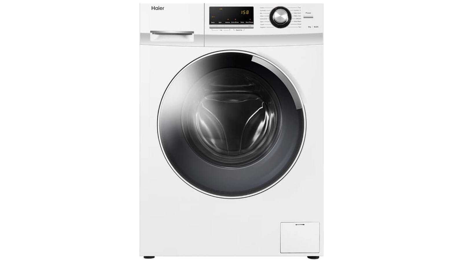 haier 8kg front load washing machine review