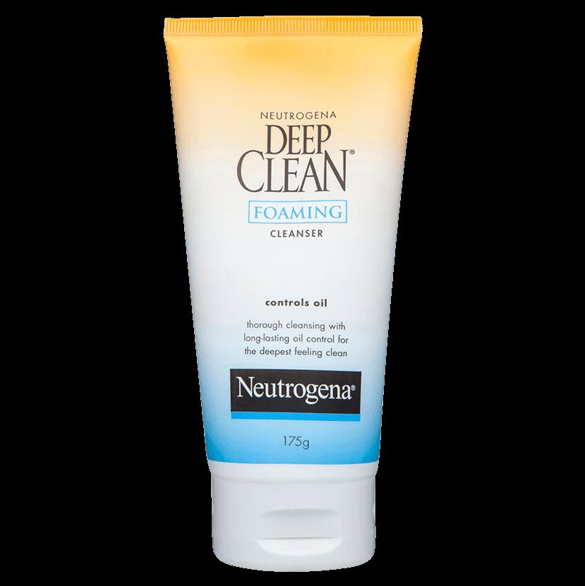 neutrogena deep clean cream cleanser review