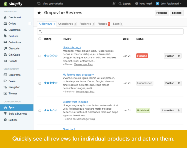 how to write a good app review