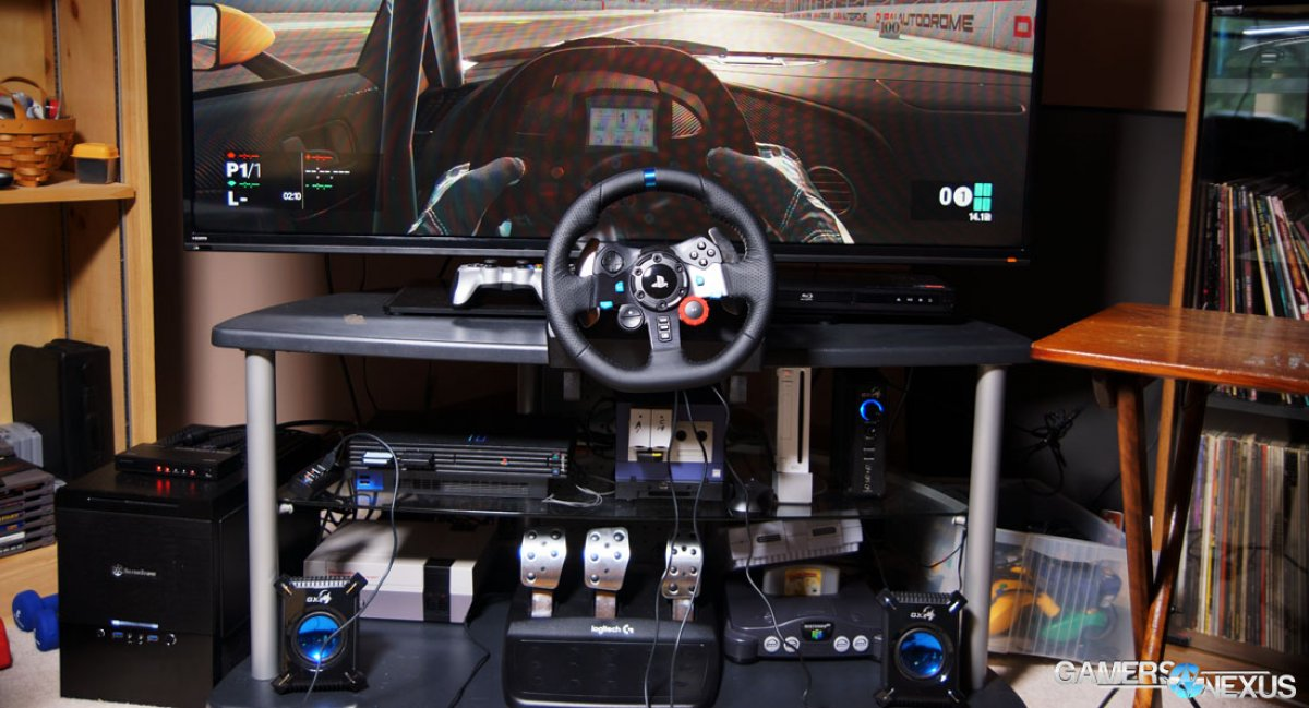 logitech g29 driving force racing wheel review