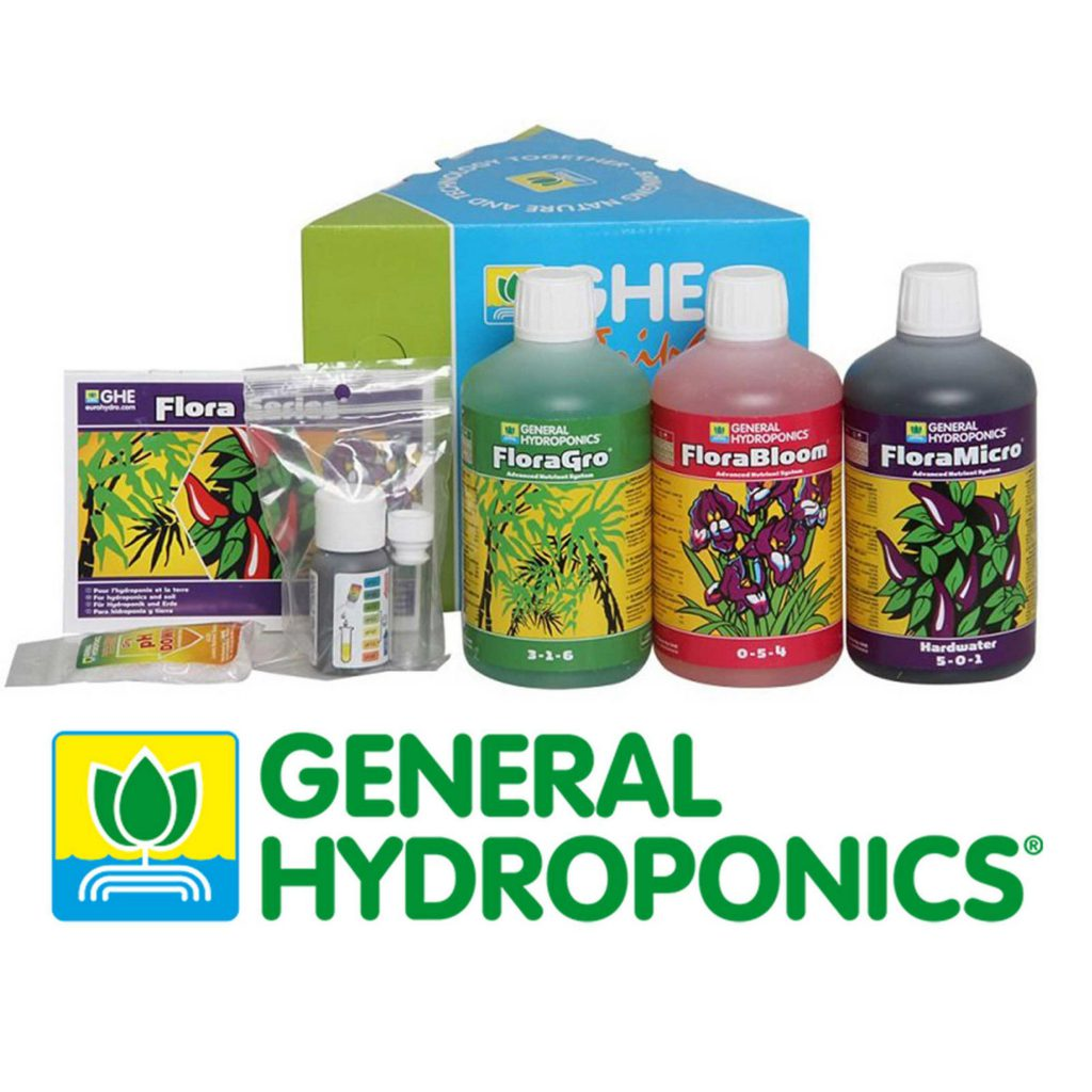 general hydroponics flora series review