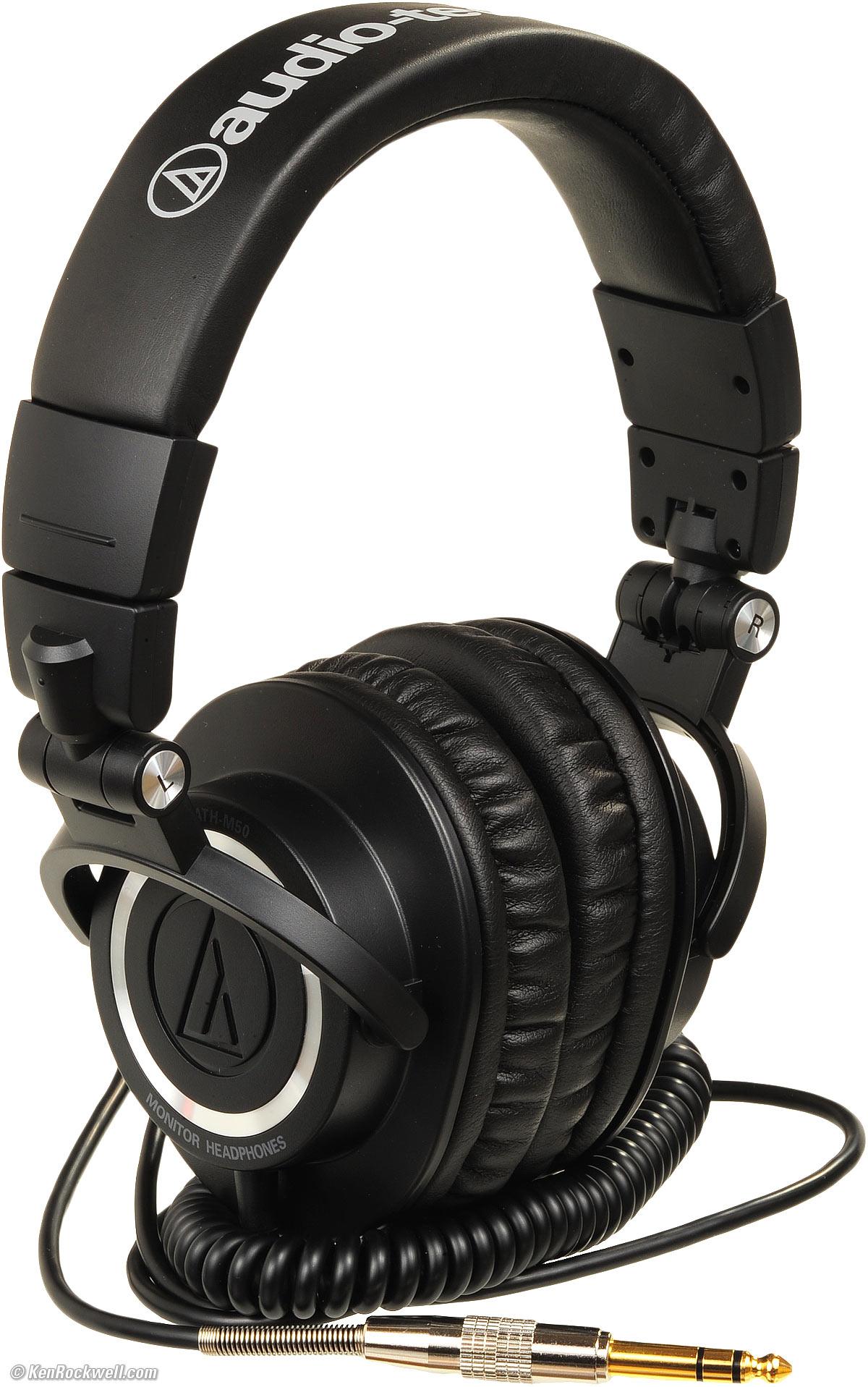 audio technica ath m50s review