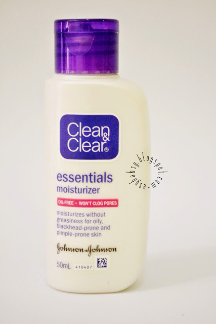 clean and clear moisturizer review