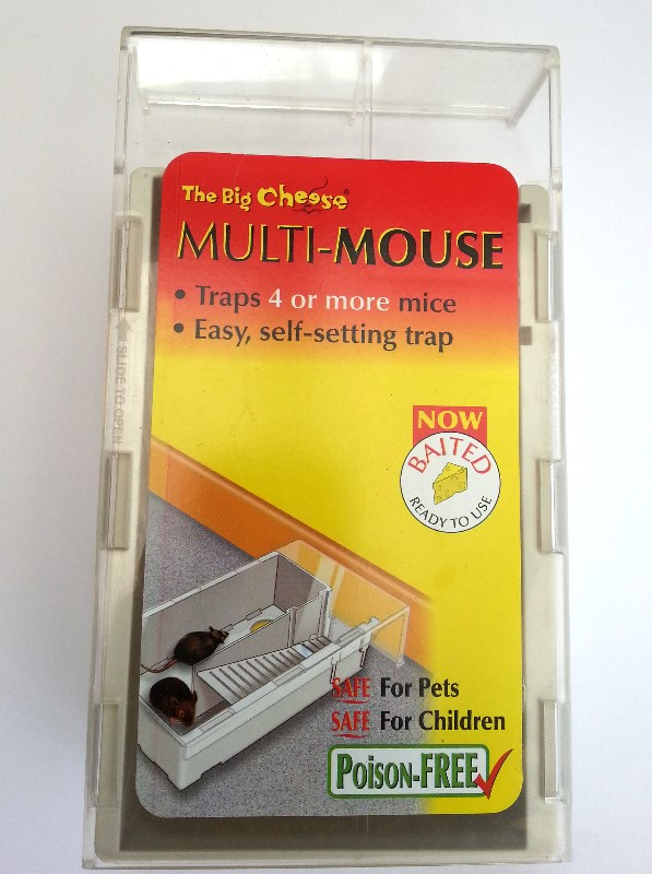 big cheese revolver mouse trap review