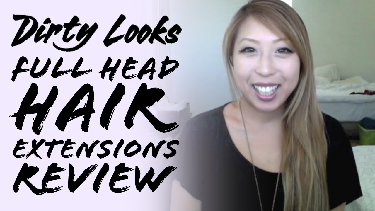 dirty looks ombre hair extensions review