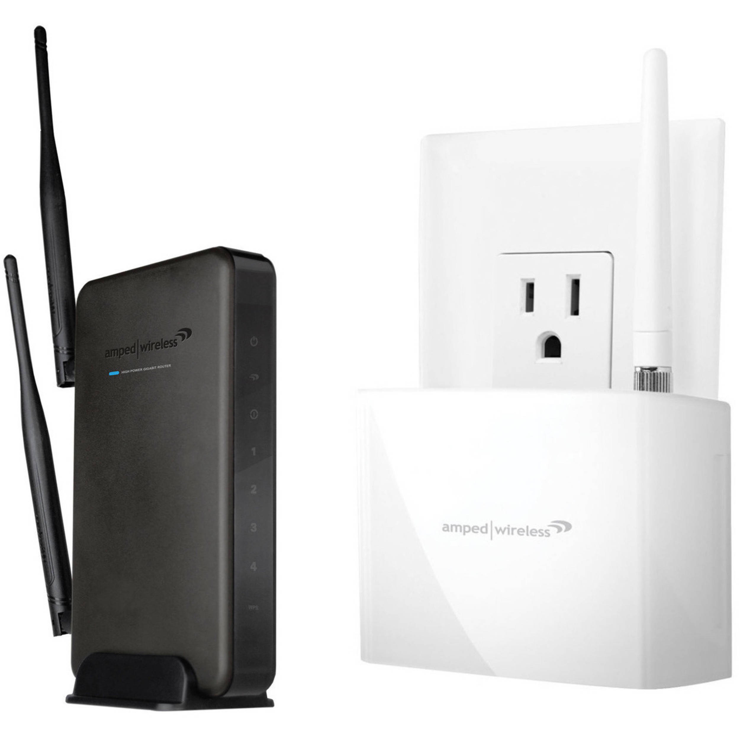 amped wireless wifi range extender review
