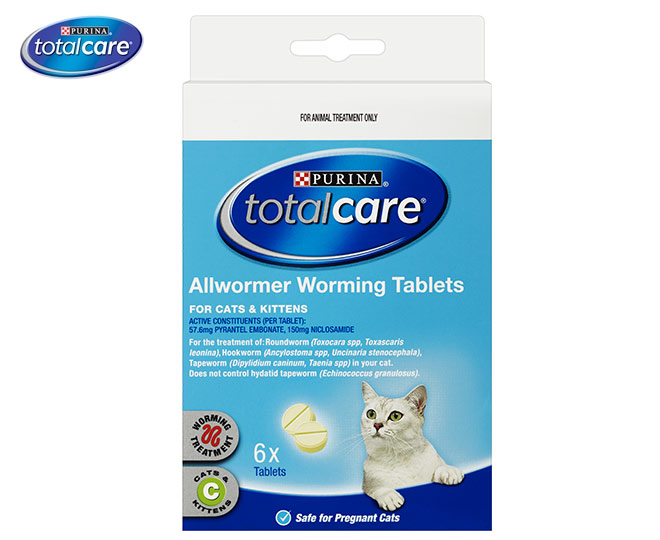 purina total care allwormer review