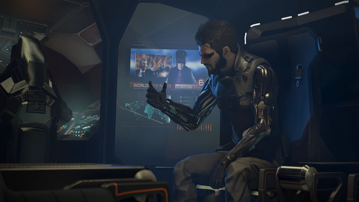 deus ex review xbox one