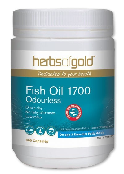 herbs of gold fish oil review